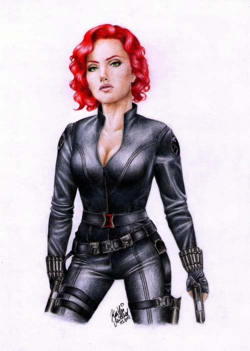 Scarlett Johansson by Revolver